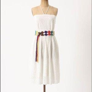HD in Paris Eyelet Halter Dress *no belt*